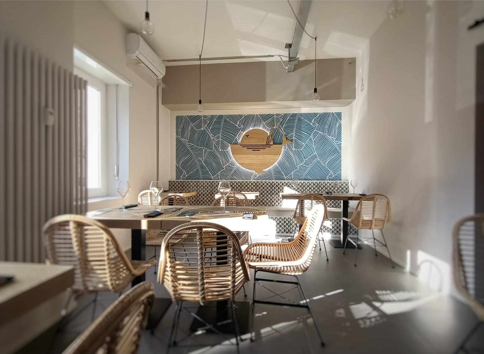 ristrutturazione ristorante Pacifik Poke Torino